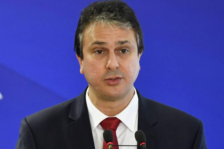 O governador do Ceará, Camilo Santana (PT), que disputa a reeleição