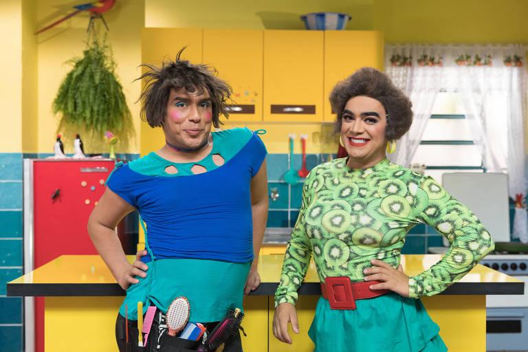 Caike Luna e Lindsay Paulino estrelam a série Baby e Rose, do Multishow