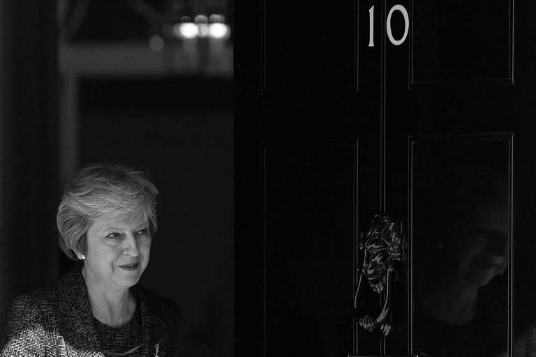 A premiê Theresa May, que cunhou o slogan 'brexit significa brexit'