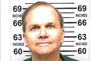 New York State Department of Corrections and Community Supervision 2018 photo of Mark David Chapman who murdered John Lennon in 1980