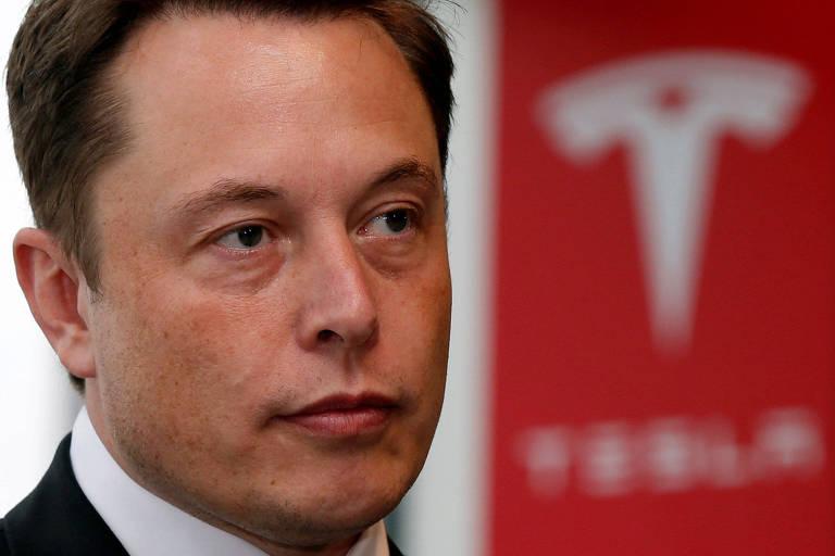 Elon Musk, presidente-executivo da Tesla; ele havia prometido lucro no balanço trimestral da montadora