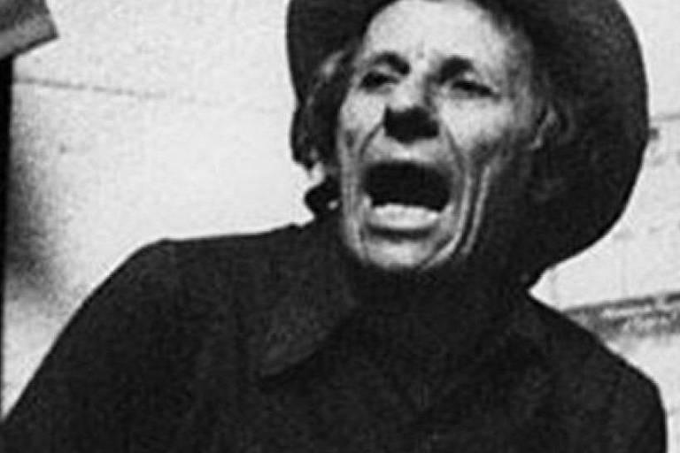 Um dos raros retratos do radialista Zé Bettio