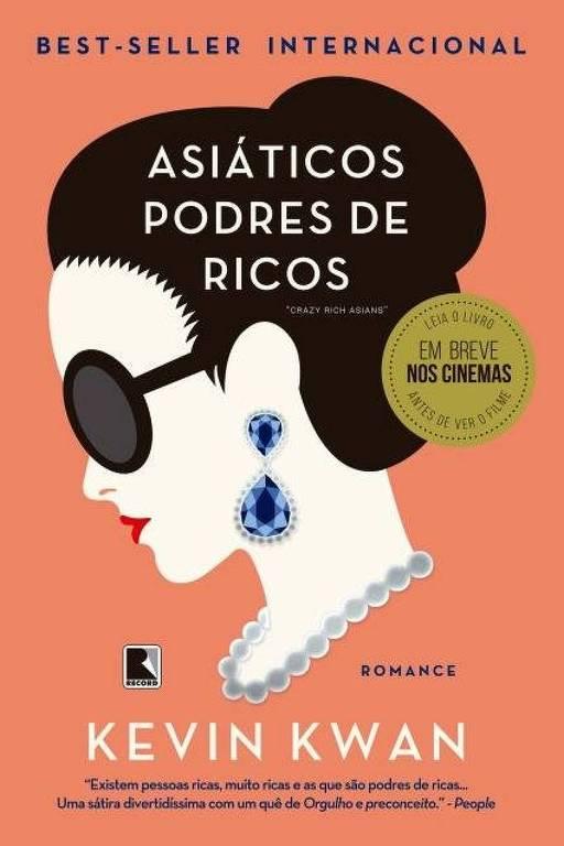 Livro Asiáticos Podres de Ricos