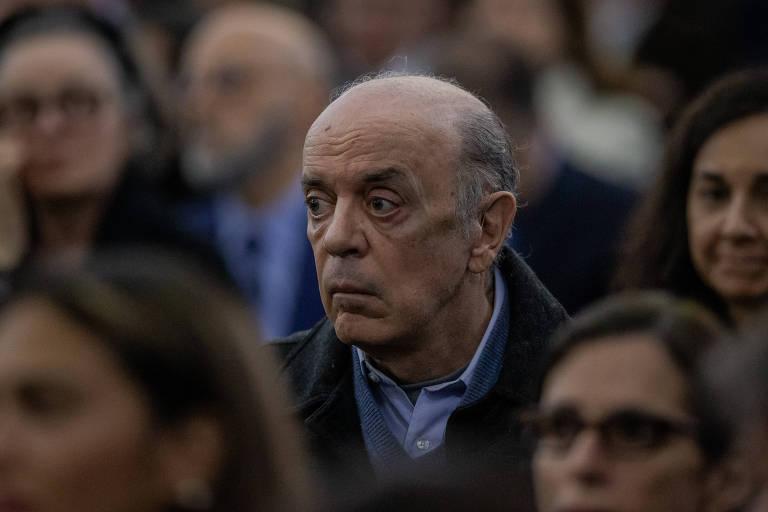 O senador José Serra (PSDB-SP), alvo de inquérito a partir de delações da Odebrecht