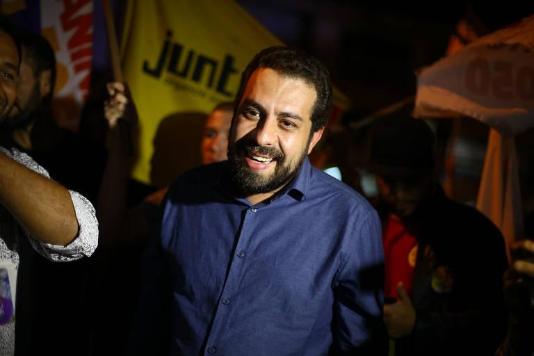 Boulos participa de ato de campanha em Brasília