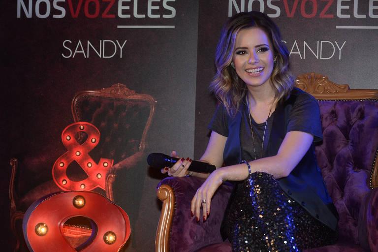 Sandy lança projeto Nós, Voz, Eles