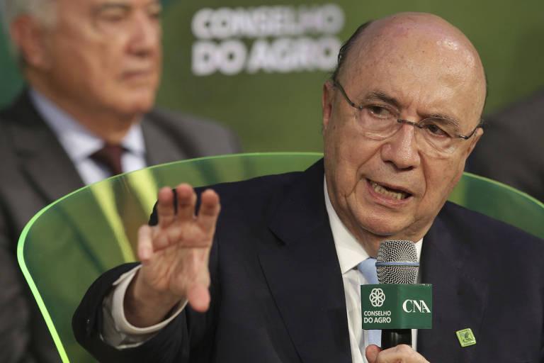 Candidato Henrique Meirelles é sabatinado na Confederação Nacional da Agricultura (CNA)