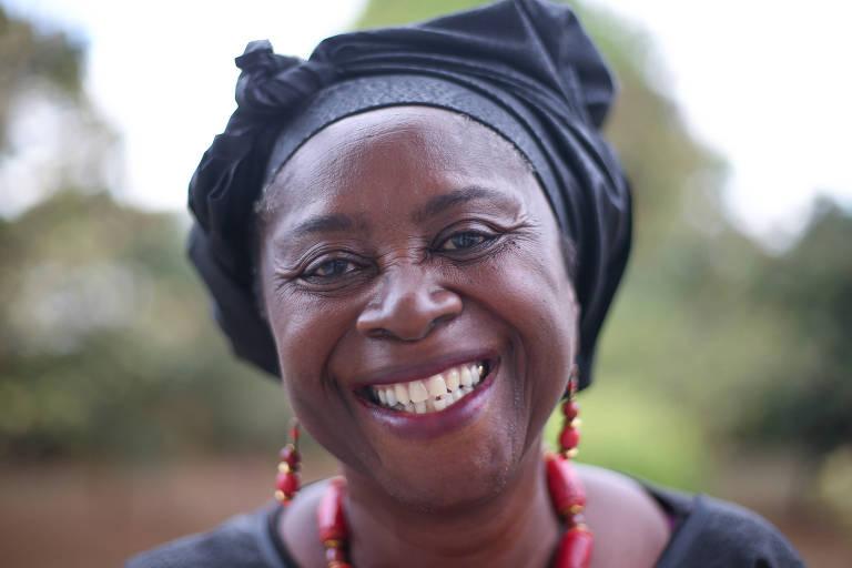 Abena Busia, 65, embaixadora de Gana no Brasil