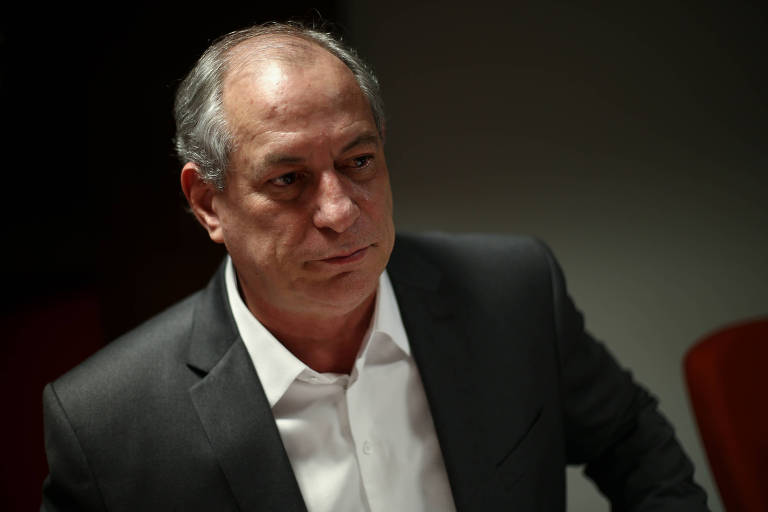 O candidato à Presidência Ciro Gomes (PDT) durante fala na ANDIFES, em Brasília