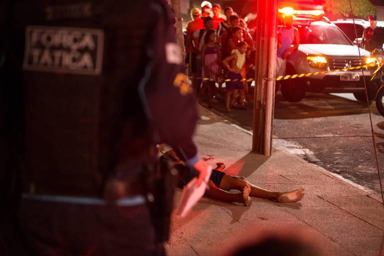Resultado de imagem para Brasil registra 3 mil assassinatos