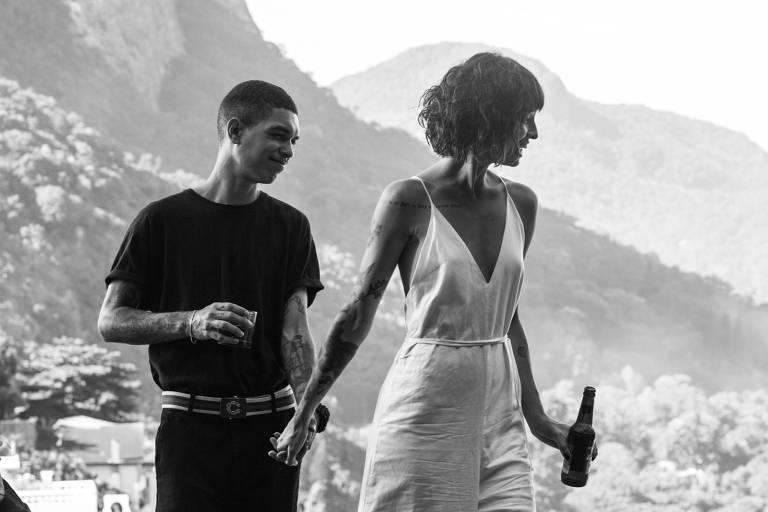 Stephan Peixoto, filho de Marcelo D2, e Beatriz Alves em 'Amar É para os Fortes'