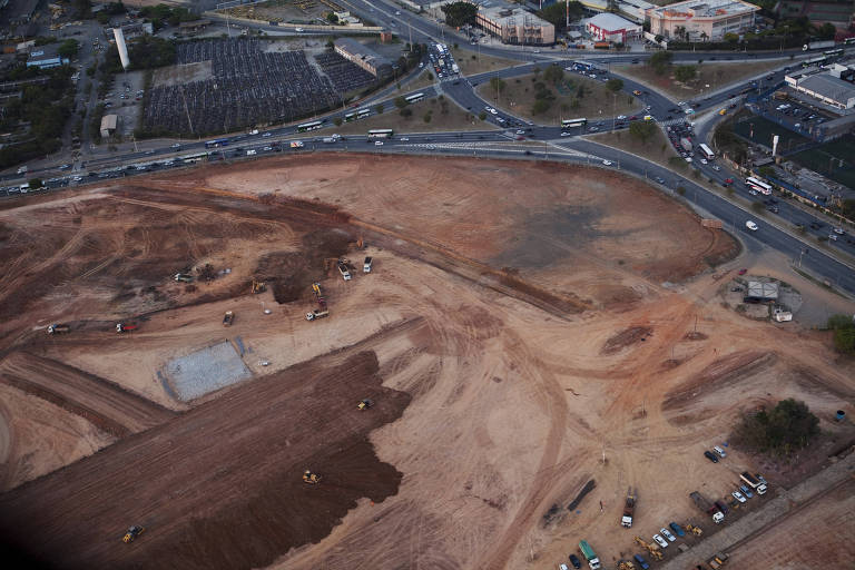 Terreno na Barra Funda onde foi construído bairro planejado, como parte da operação urbana Água Branca