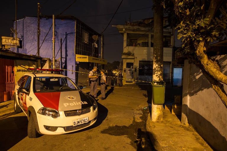 O policial militar Wesley Fernando Parron, 24, foi morto a tiros, no Jardim Souza, zona sul de São Paulo