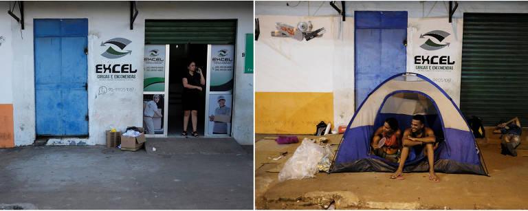 Fotos mostram 'antes e depois' da chegada de venezuelanos em Roraima