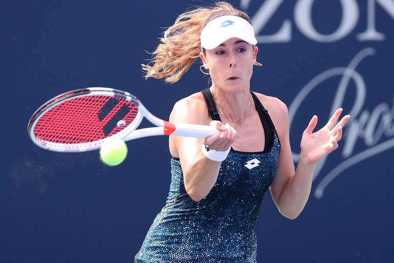 A tenista francesa Alize Cornet