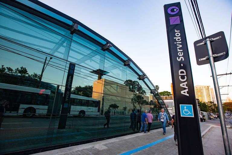 Entrega da estação AACD-Servidor, da linha 5-Lilás