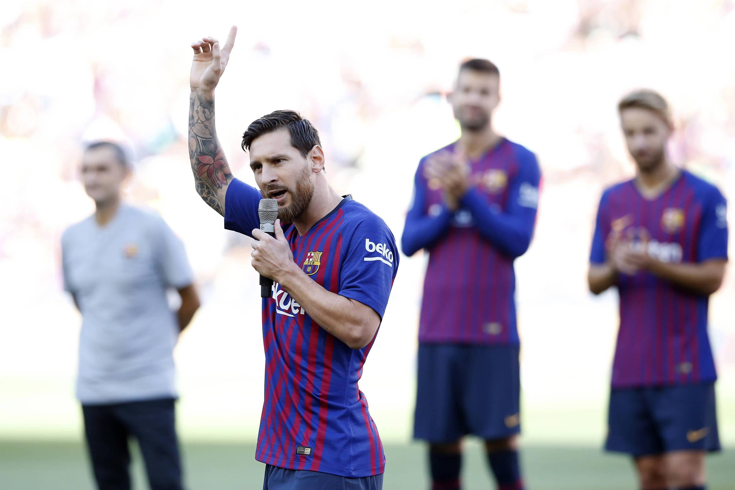 0ef4078f04 Sorteio da Liga dos Campeões impõe desafio ao Barcelona - 30 08 2018 -  Esporte - Folha