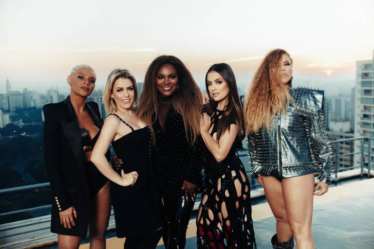 """Grupo Rouge no clipe de """"Dona da Minha Vida"""""""
