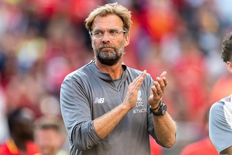 O técnico alemão Jürgen Klopp é a personificação do Liverpool atual