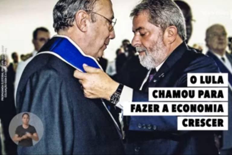 Campanha de Meirelles (MDB) na TV exibe candidato ao lado de Lula