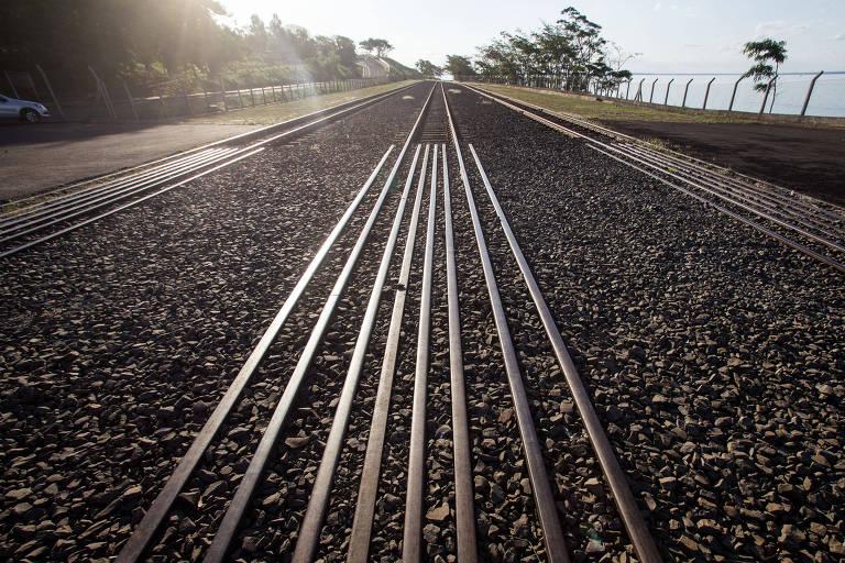 Estação de trem desativada de Presidente Epitácio (SP)