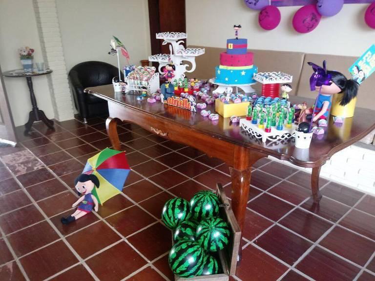 Faça a festa do seu filho em casa