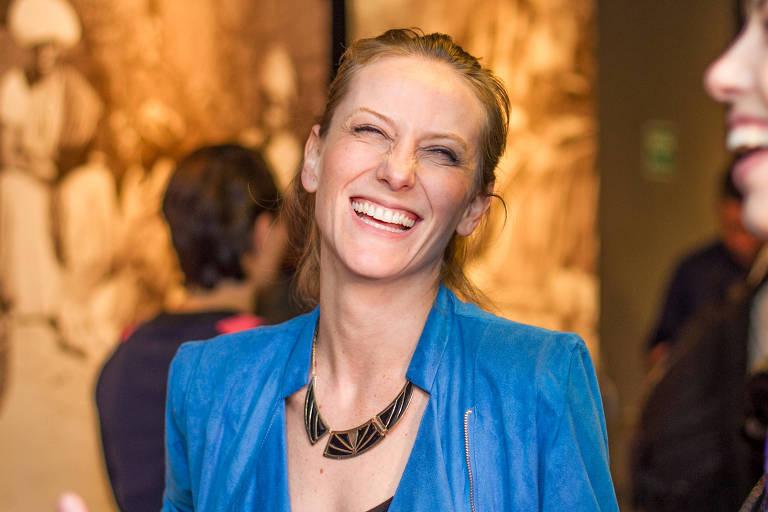 A atriz e escritora Paula Picarelli