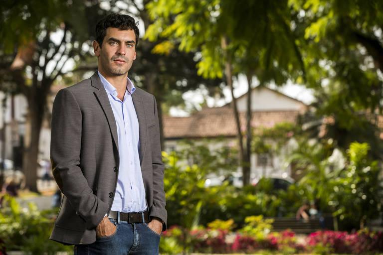Marcelo, personagem de Nikolas Antunes na novela das seis