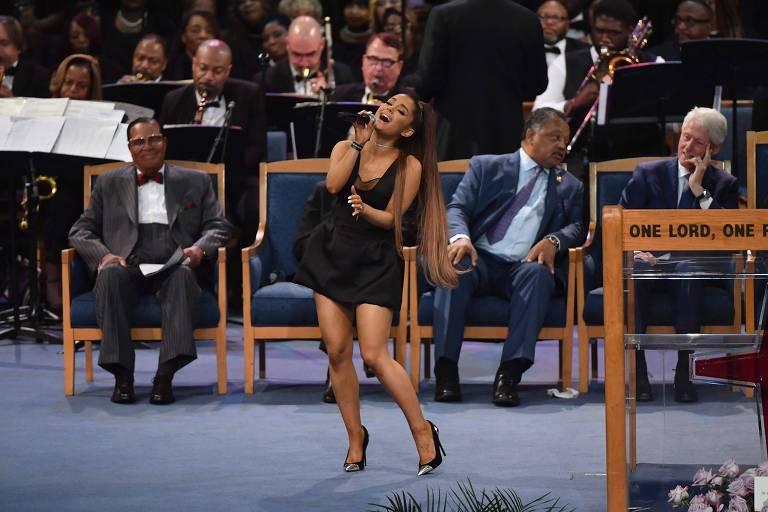 Funeral de Aretha Franklin nos EUA