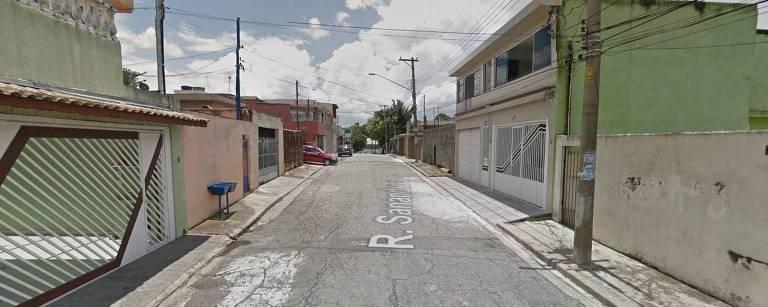 Rua Sananduva, na Vila Matilde, zona leste de São Paulo