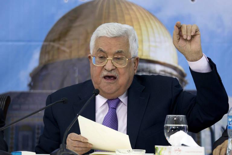 Dúvidas sobre a saúde de Abbas esquentam disputa sucessória palestina