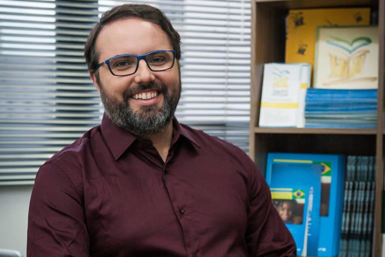 O candidato a senador por São Paulo Daniel Cara (PSOL)