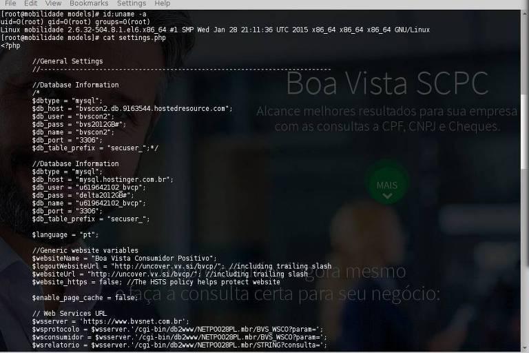 Empresa de análise de crédito, Boa Vista teve sua base de dados hackeada na noite de domingo