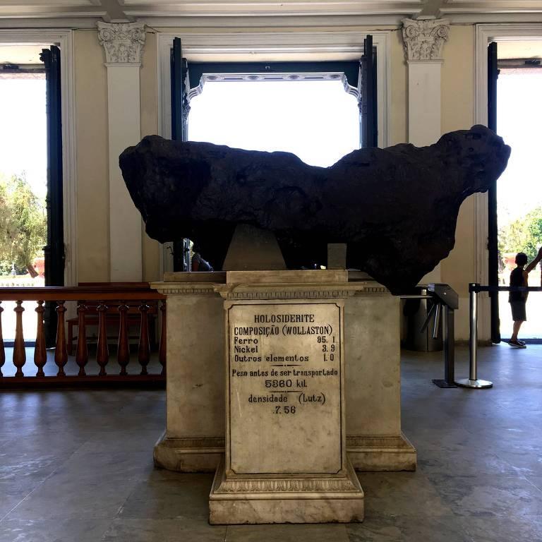 Imagens mostram peças do acervo do Museu Nacional antes do incêndio