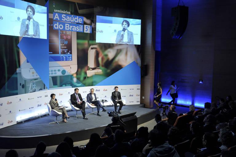 Seminário sobre saúde no Brasil, promovido pela Folha em abril de 2018