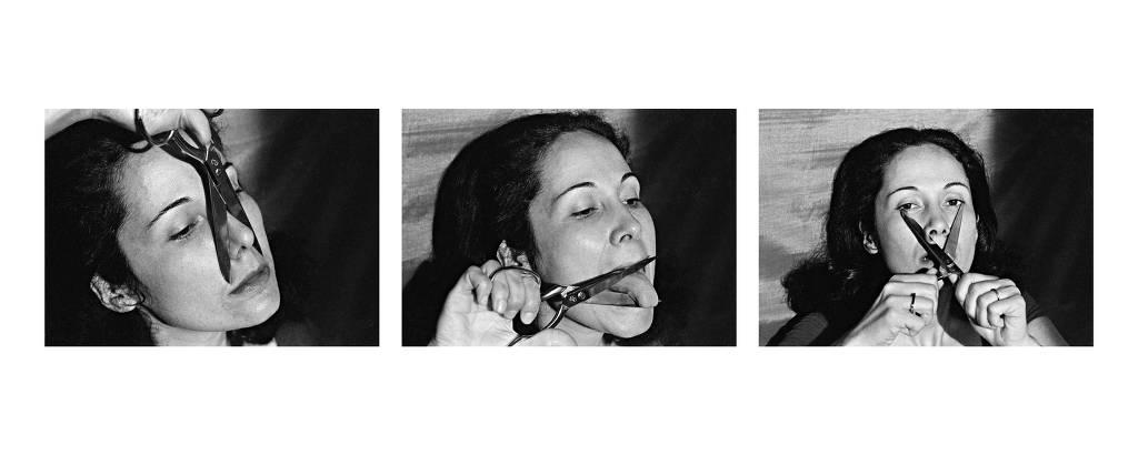 Obra da artista Anna Maria Maiolino que está na exposição Mulheres Radicais, na Pina