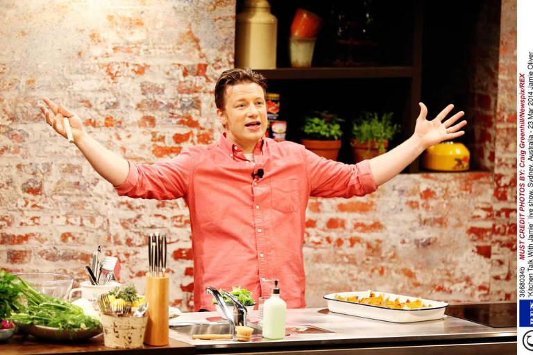 Veja a história de Jamie Oliver
