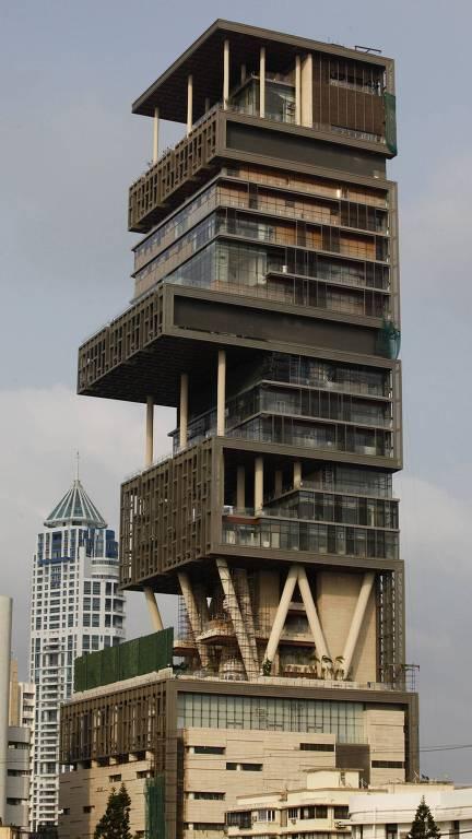 Prédio em Mumbai (Índia)