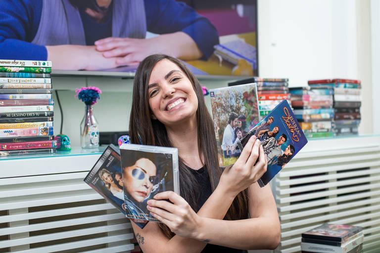 Lígia Ferreira viciada em novelas mexicanas
