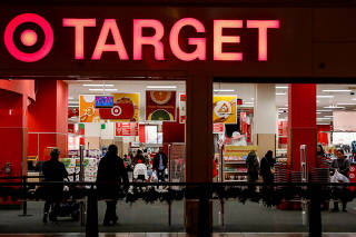 FILE PHOTO: A Target store is seen in the Brooklyn borough of New York