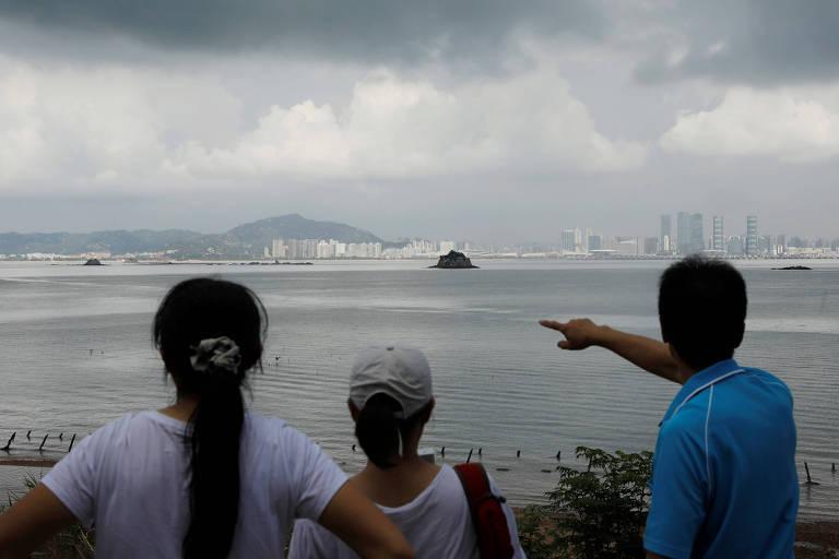 Ilha taiwanesa ponto de conflito com a China se aproxima de Pequim
