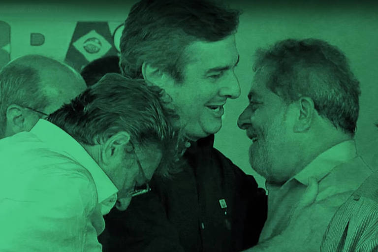 Collor (PTC) mostra imagem e cita Lula em propaganda