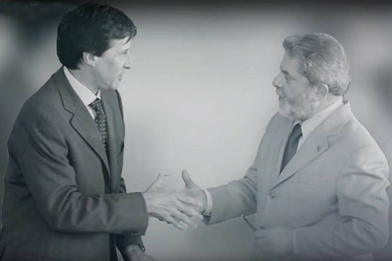 Eunício Oliveira elogiou Lula em sua propaganda