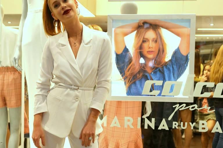 Marina Ruy Barbosa assina nova coleção da Colcci