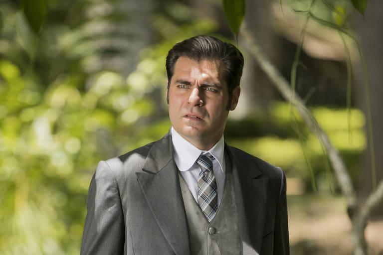 O ator Thiago Lacerda como Darcy, personagem que sofre transformação em nome do amor de Elisabeta