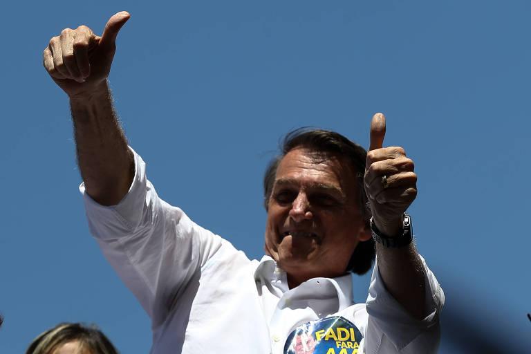 Pesquisa Ibope mostra Bolsonaro na frente e empate técnico triplo no 2º lugar