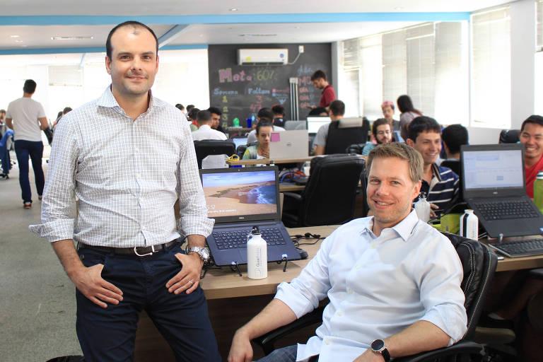 Fundadores do GuiaBolso, Thiago Alvarez e Benjamin Gleason