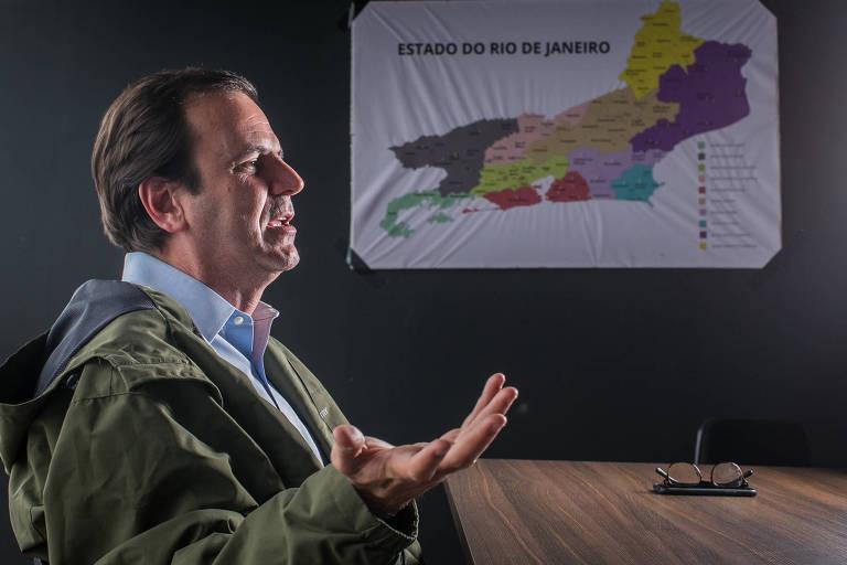 O ex-prefeito Eduardo Paes, candidato ao governo do Estado do Rio pelo DEM