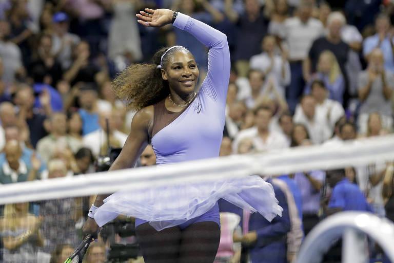 Serena Williams domina tenista da Letônia e vai à final do Aberto dos EUA