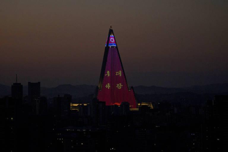 Coreia do Norte celebra aniversário de 70 anos